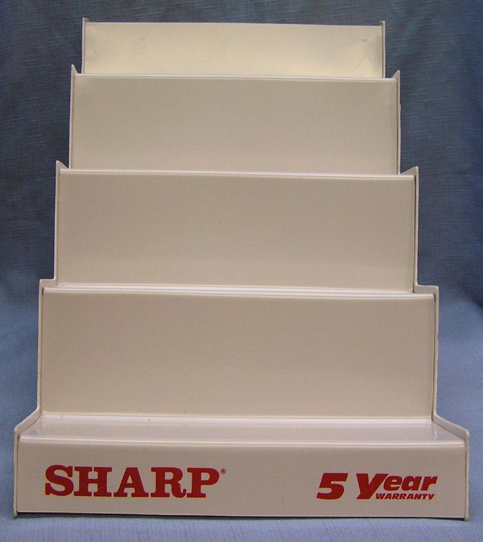 Sharp wrist watch advertising display stand