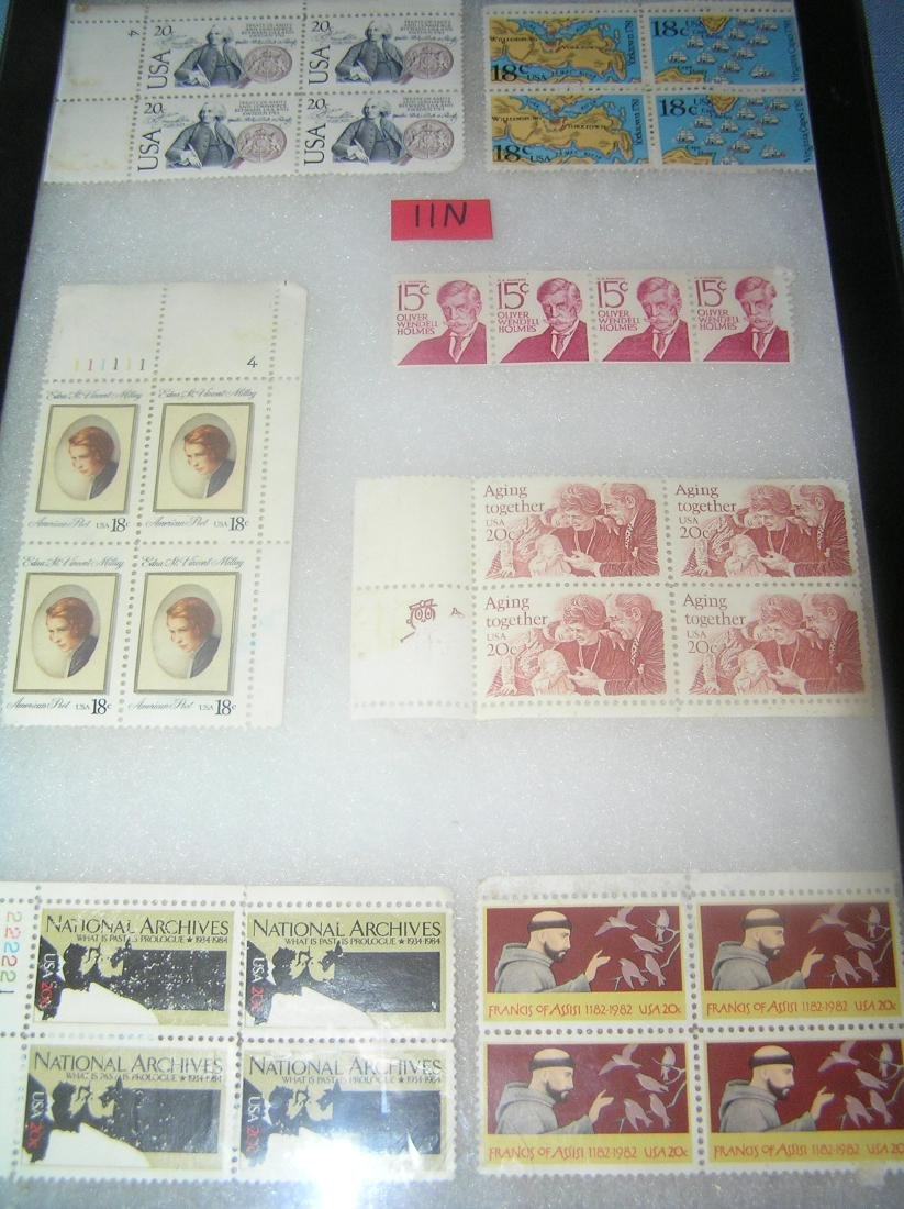 Group of vintage US stamps