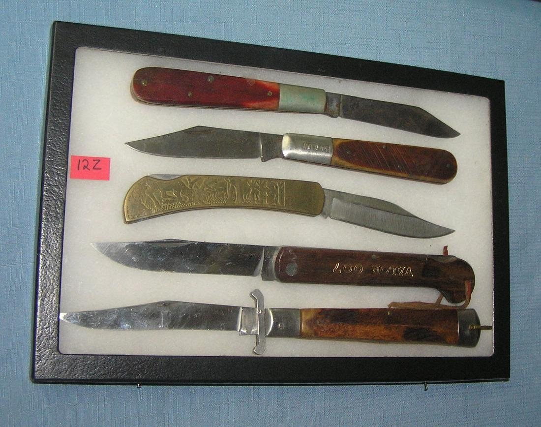 Nice Collection of oversized pocket knives