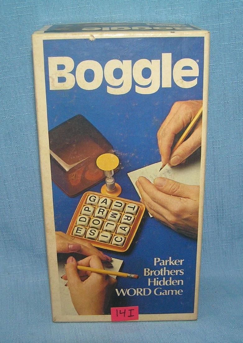 Vintage Boggle game by Parker Bros