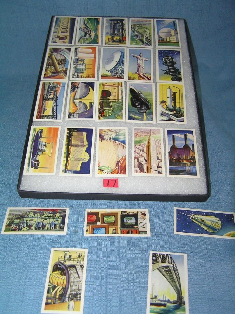 25 piece modern wonders card set