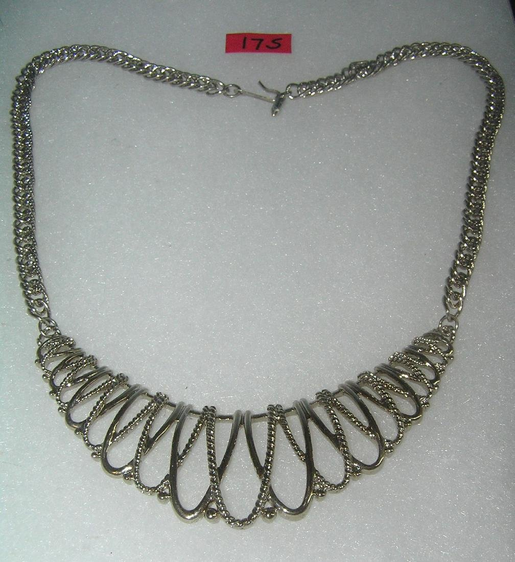 Vintage costume jewelry necklace