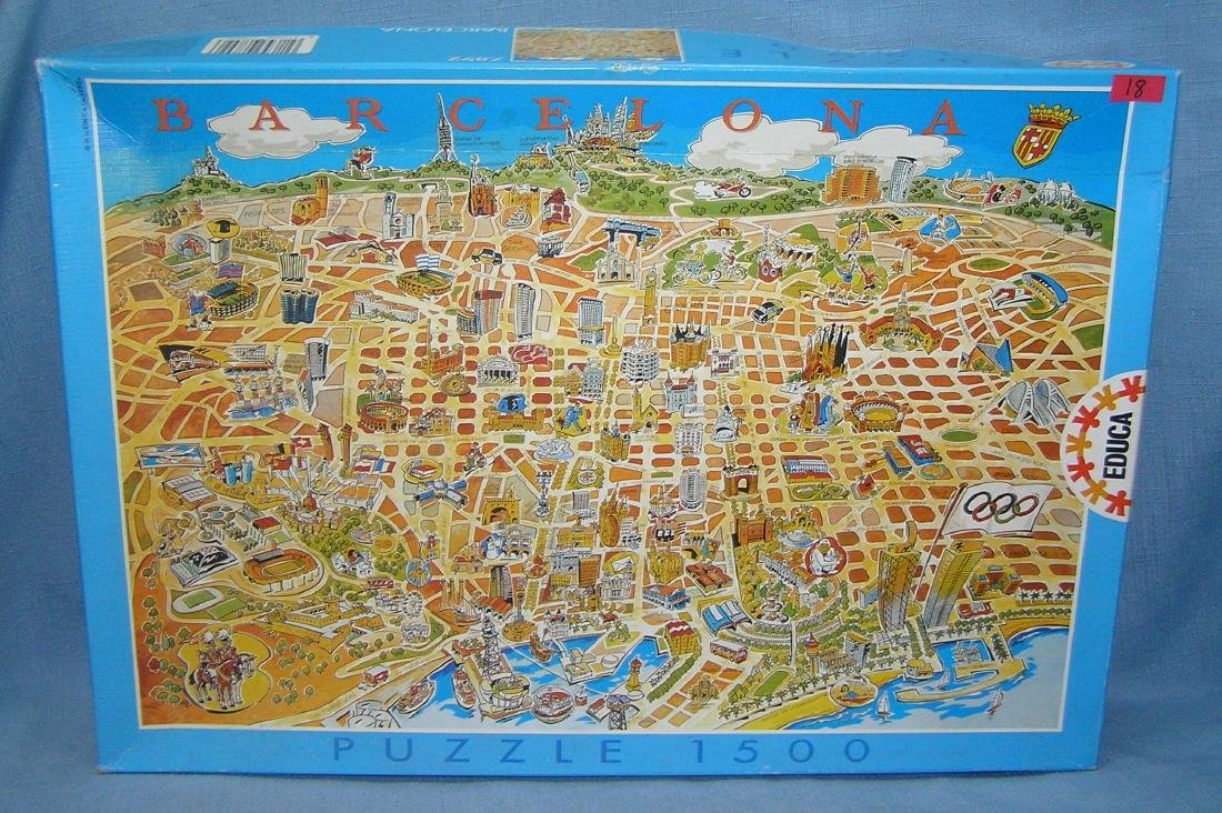 Barcelona puzzle 1500