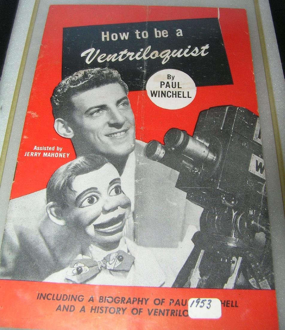 How to be a ventriloquist booklet with Paul Winchell