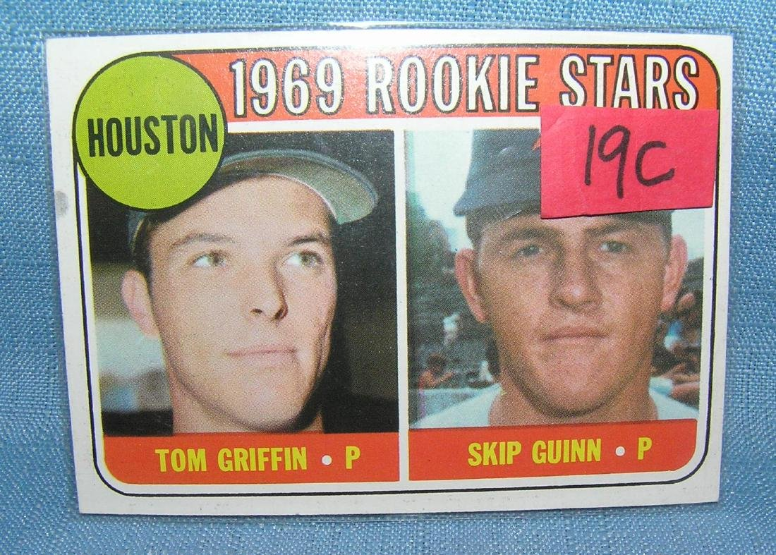 1969 rookie stars baseball card