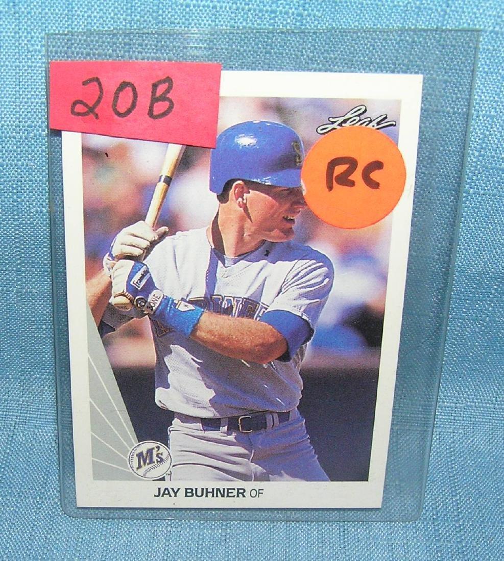 Jay Buhner rookie baseball card