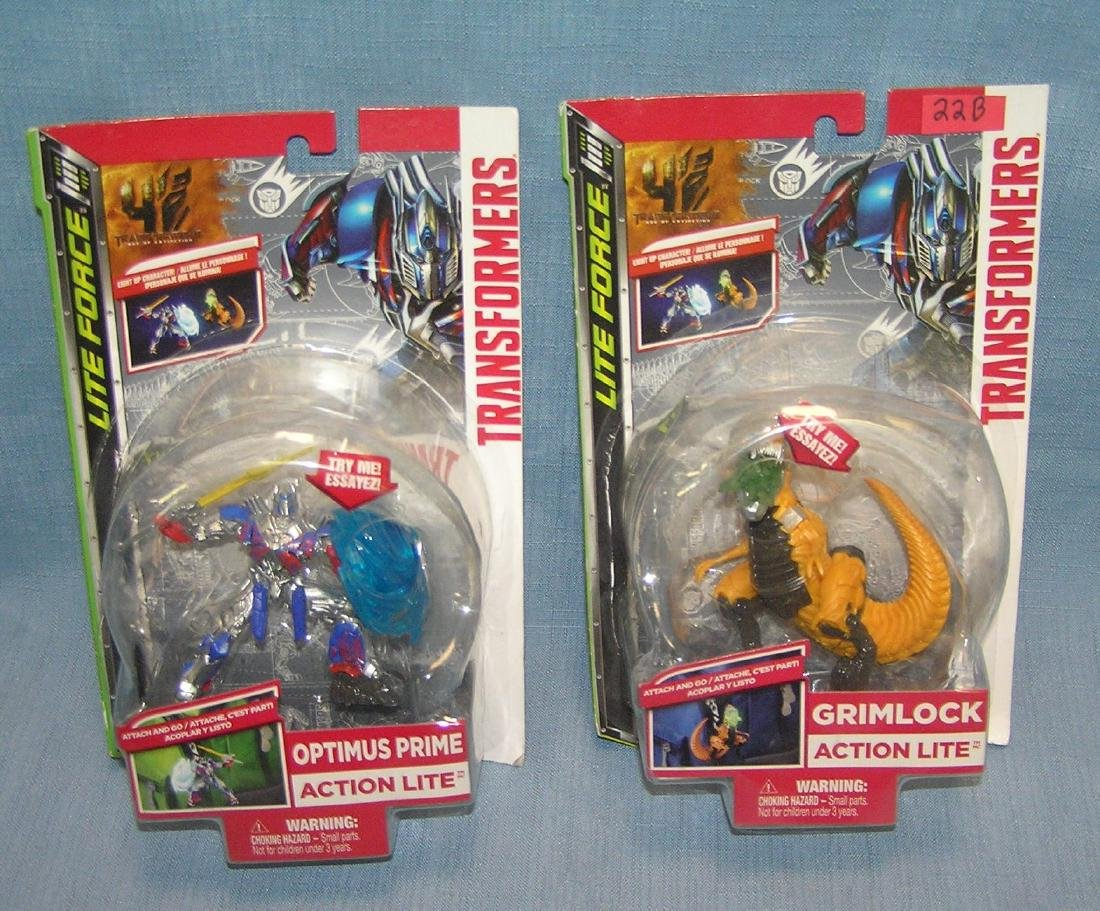 Pair of carded transformers