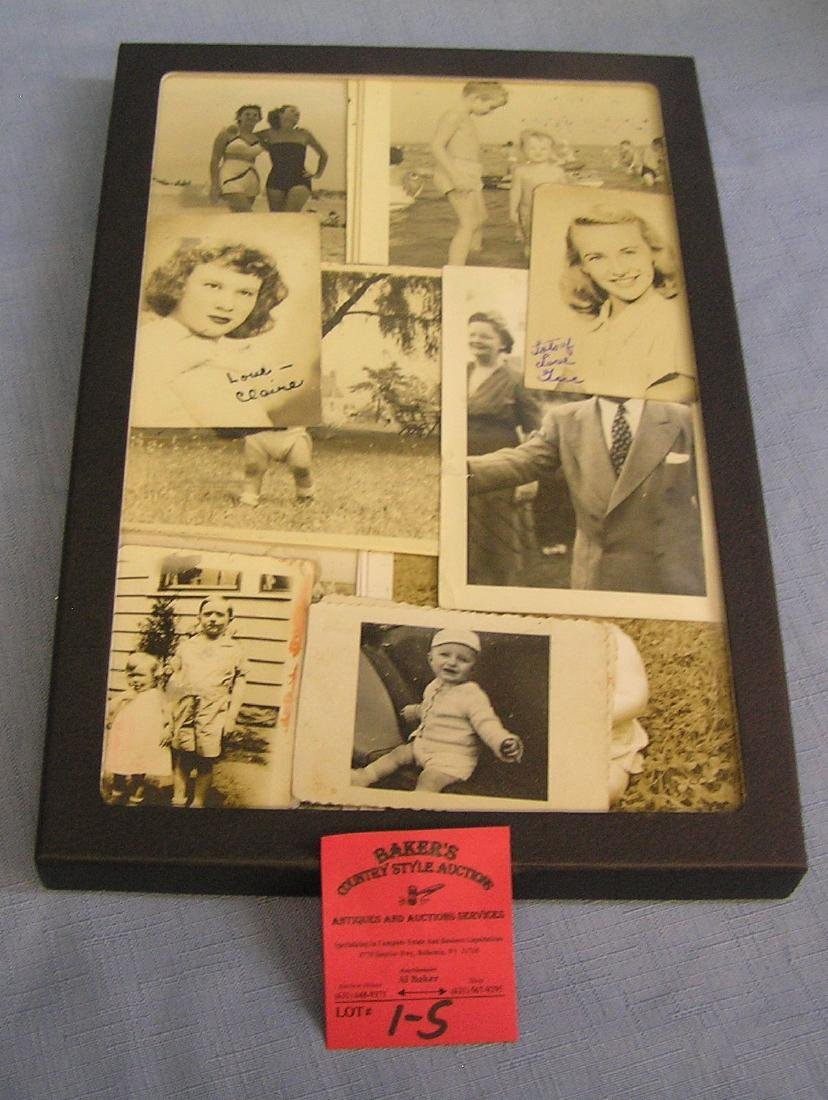 Group of early photos
