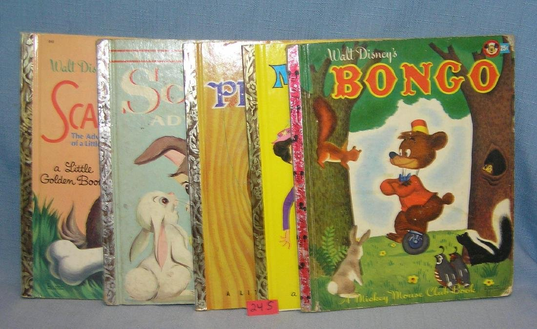 Group of vintage children's books