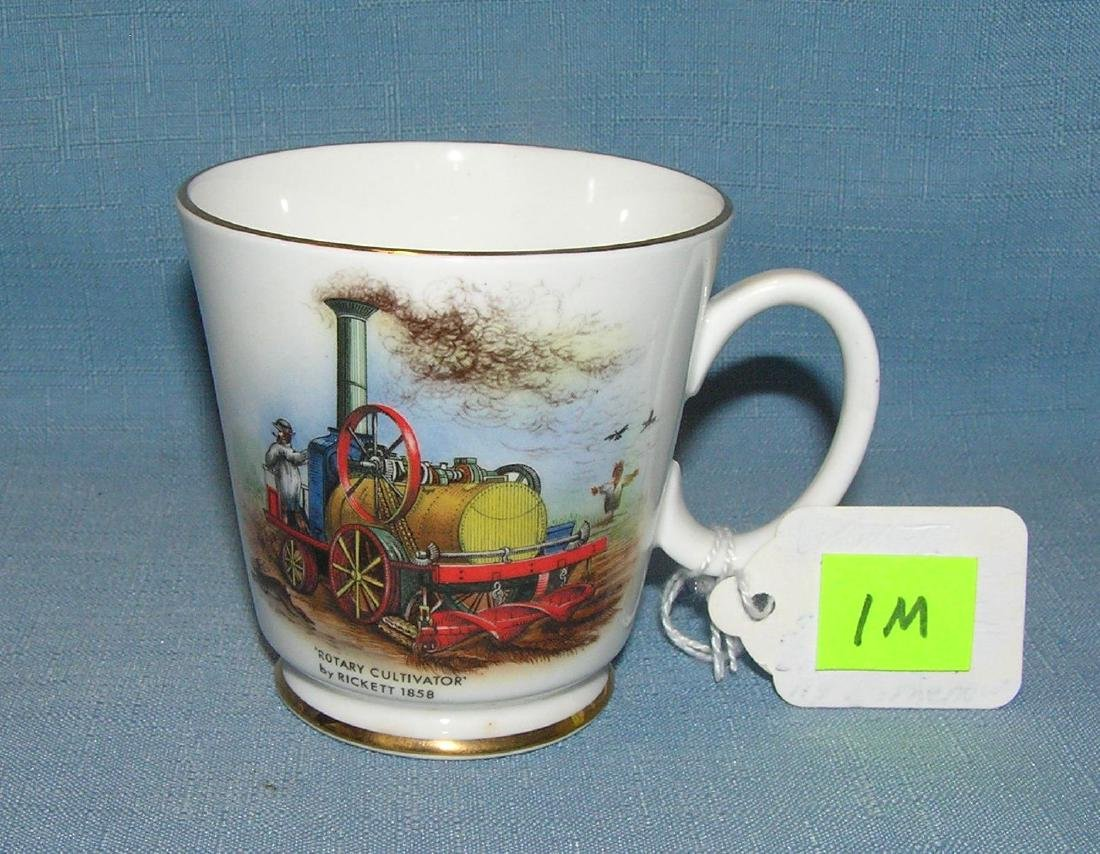 Antique English bone china cup