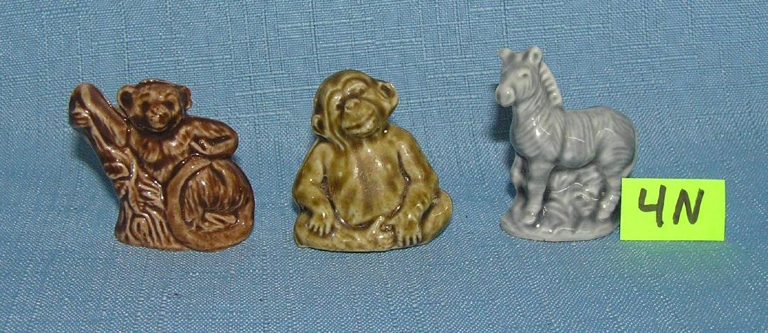 Group of 3 English Wade porcelain animals