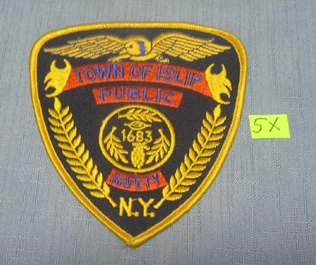 Town of Islip NY public safety officer's patch