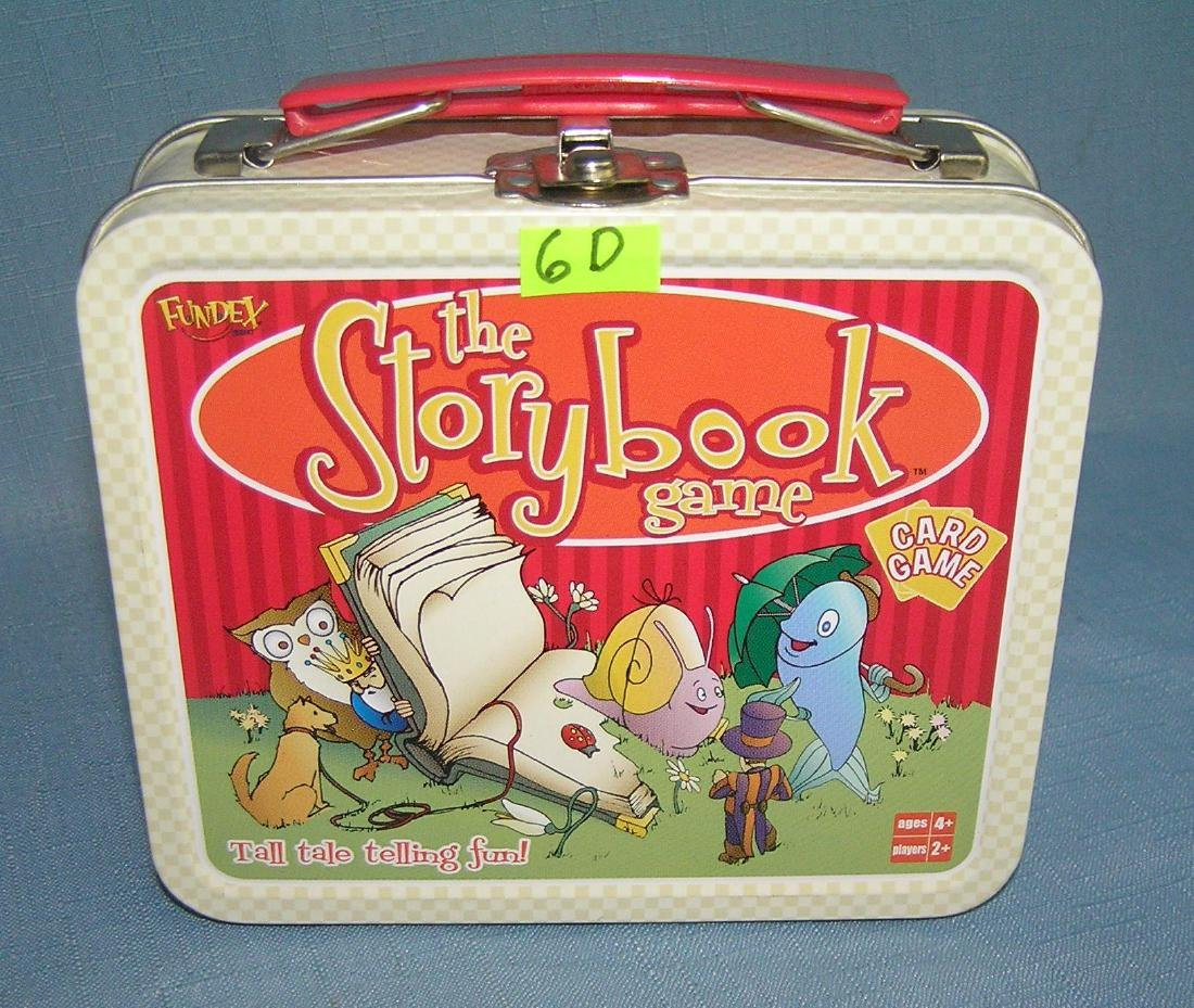 The Story Book game complete in tin lunch box