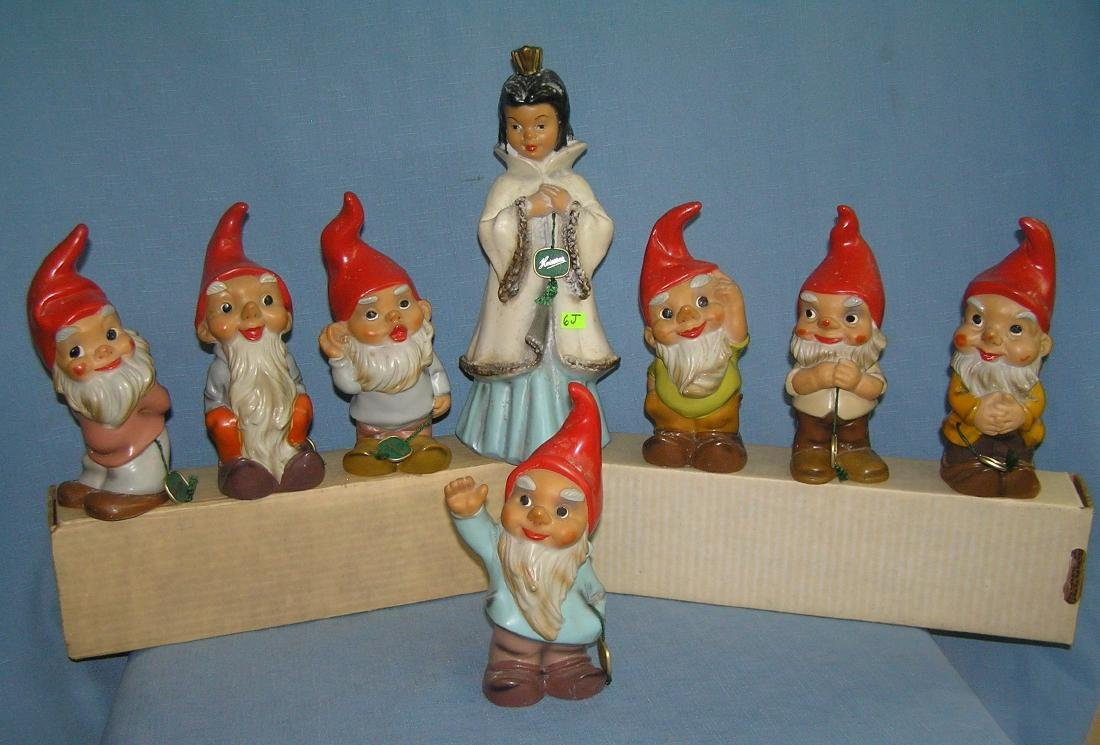 Vintage Snow White and the 7 dwarfs by Heissner