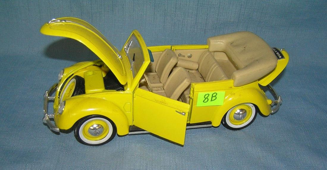 All cast metal 1951 Volkswagon covertible