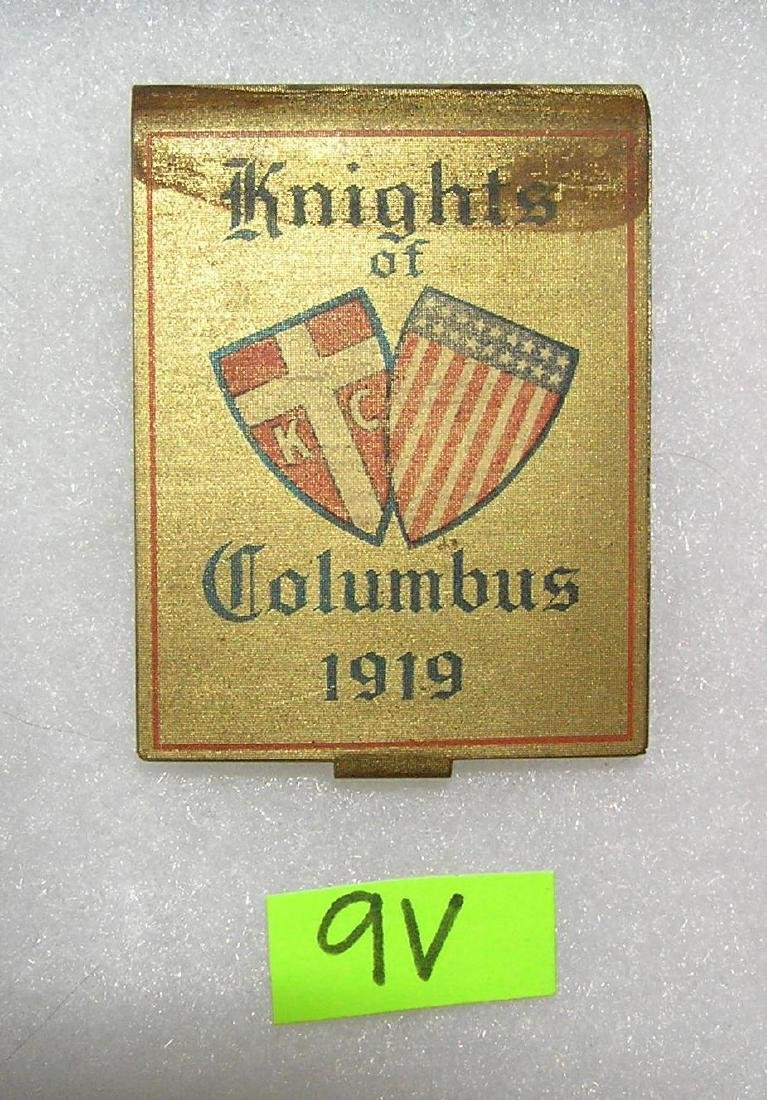 Knights of Columbus match case