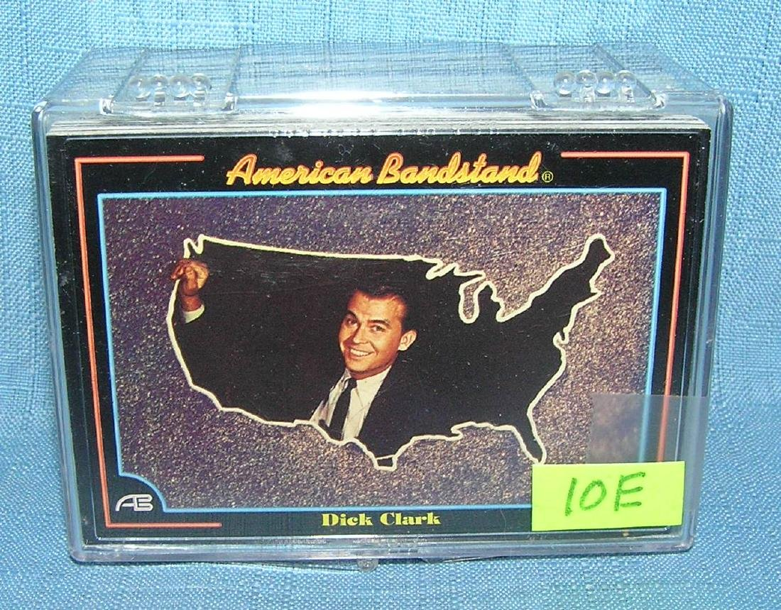 American Band Stand Rock and Roll card set