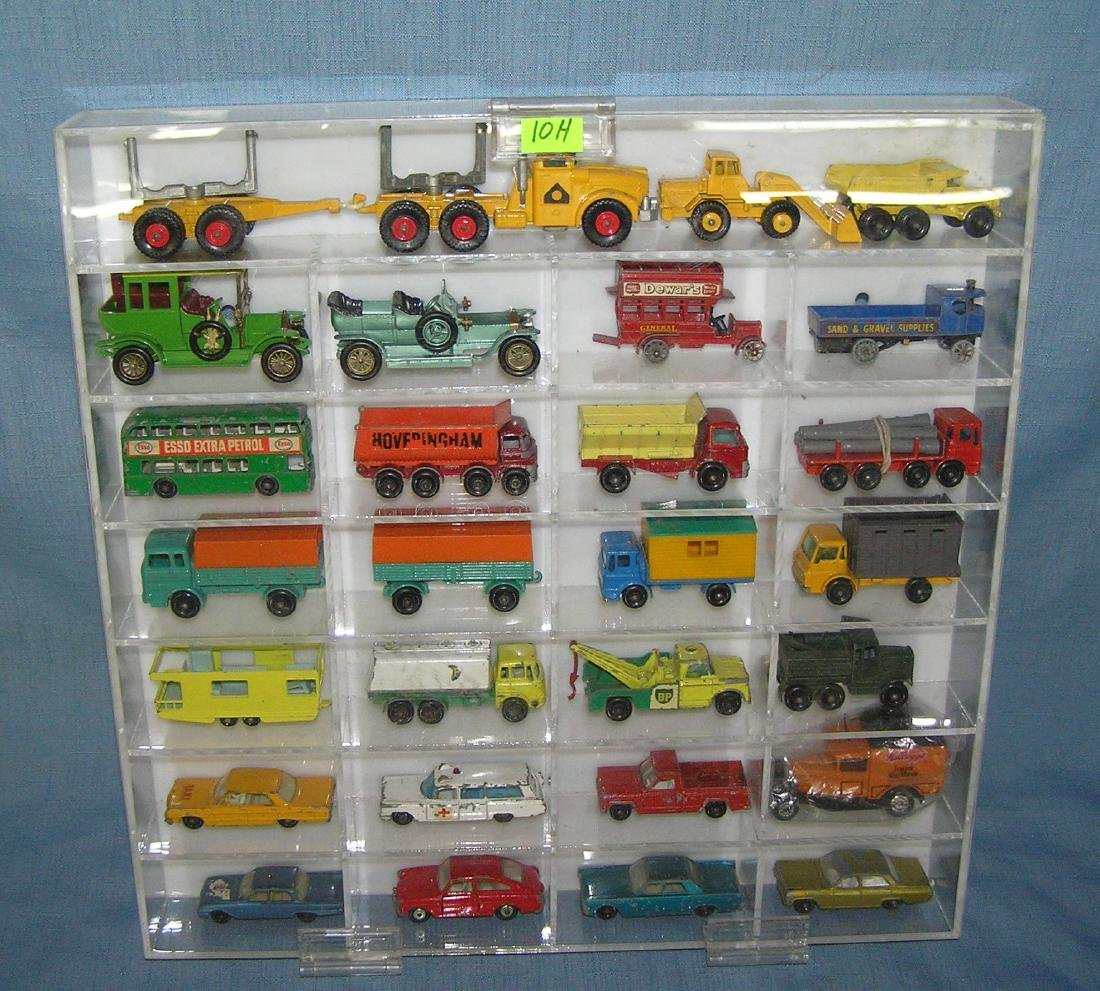 Collection of great early Matchbox collector cars