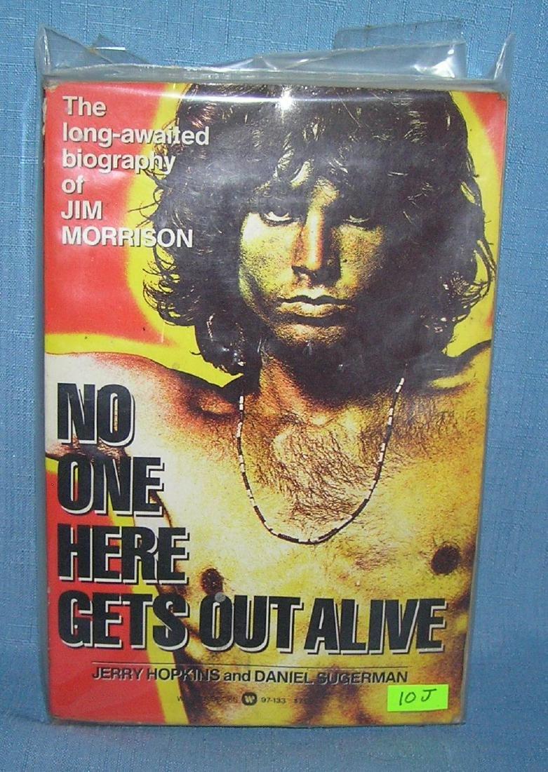 Jim Morrison biography first edition