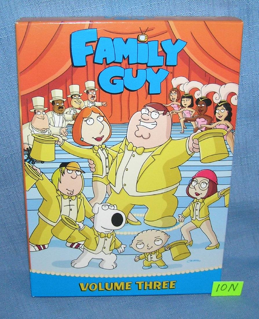Family Guy volume 3 set of 4 DVD'S