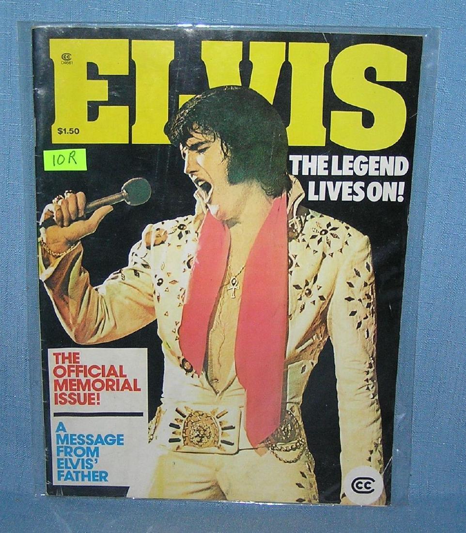 Vintage Elvis Presley fan club magazine 1978