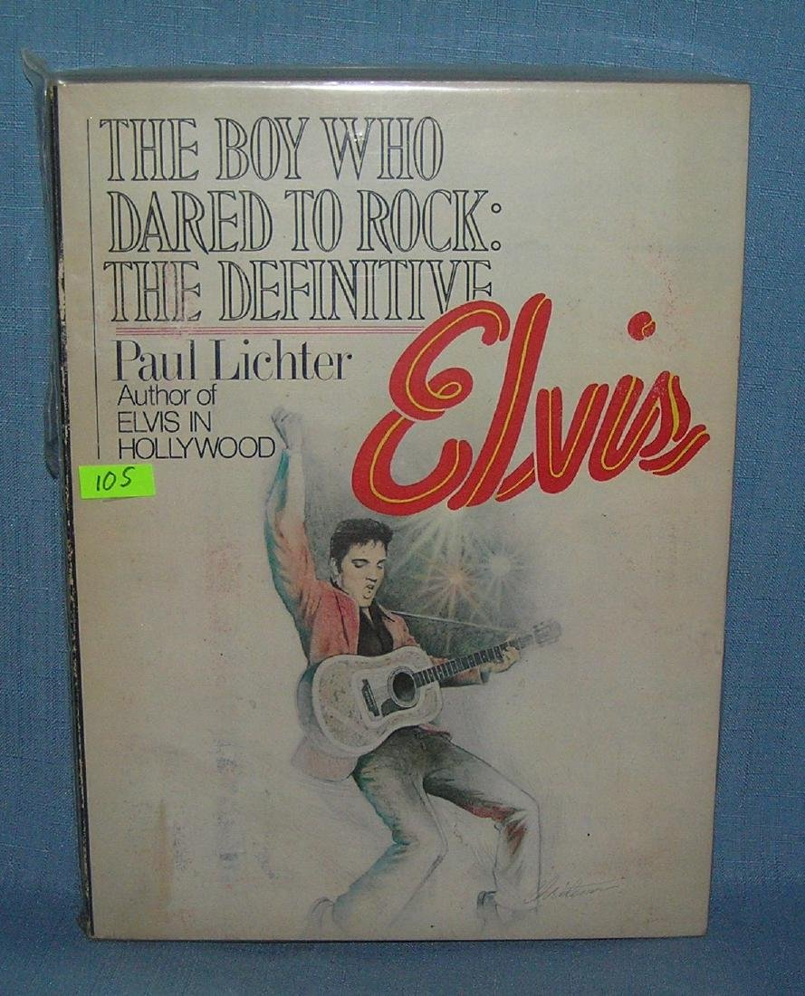 Elvis Presley book The Boy who Dared to Rock