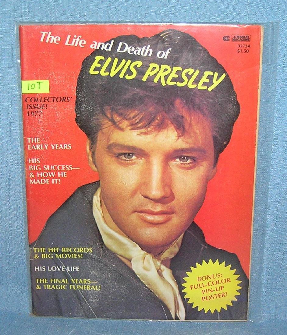 Vintage Elvis Presley magazine