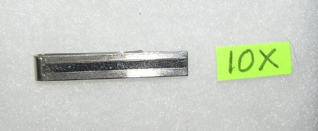 Sterling silver gentleman's tie clip