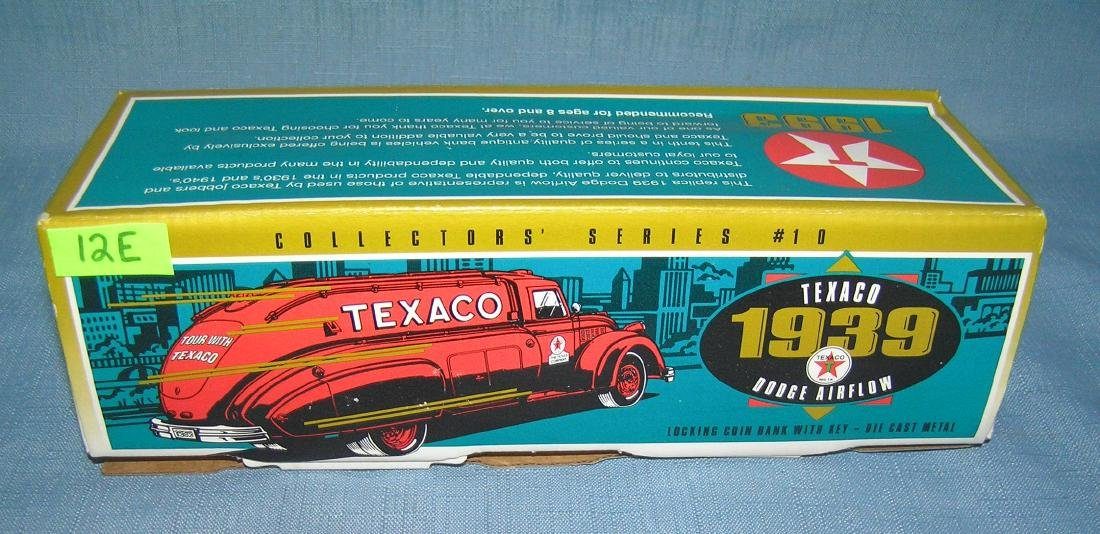 1939 Texaco Dodge air flow delivery truck bank