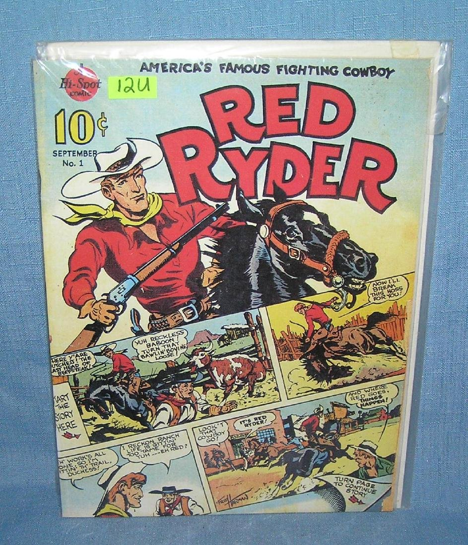 Red Ryder comic book first edition 1989 reprint