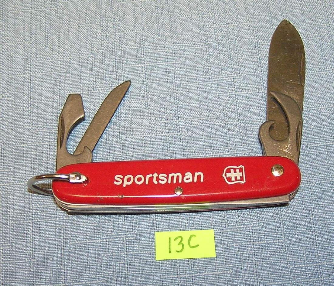 Sportsman 4 bladed Swiss Army knife style