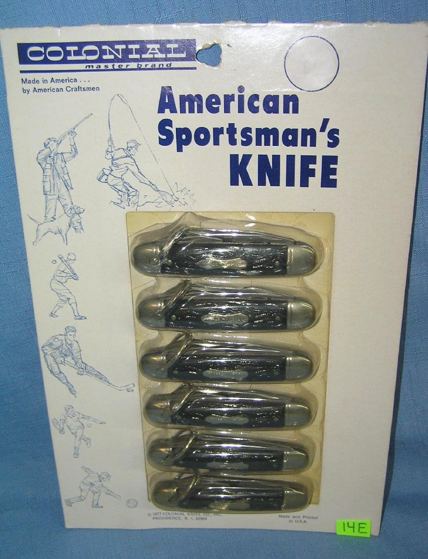 American Sportsman 3 bladed pocket knives