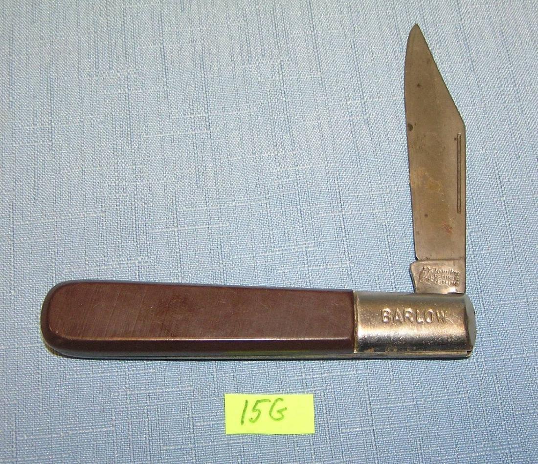 Vintage Barlow pocket knife