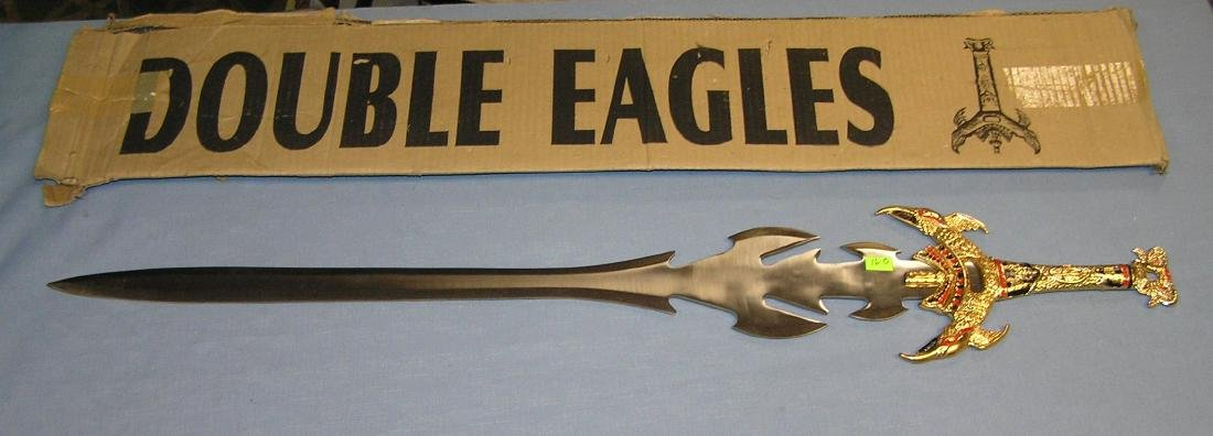 Double Eagle large 38 inch fighting sword