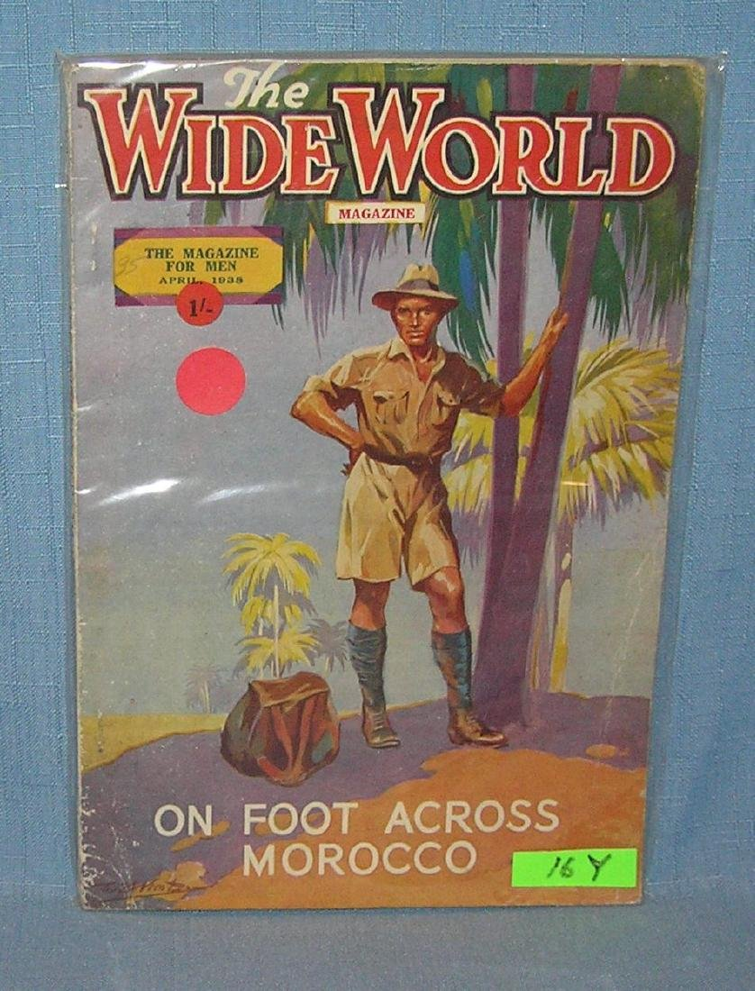 The Wide World magazine April 1938