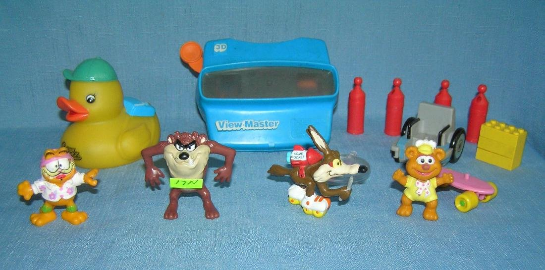 Group of vintage toys