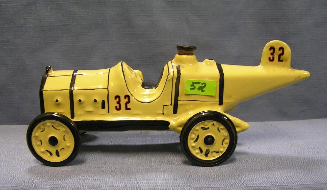 Vintage Marmon Wasp race car decanter