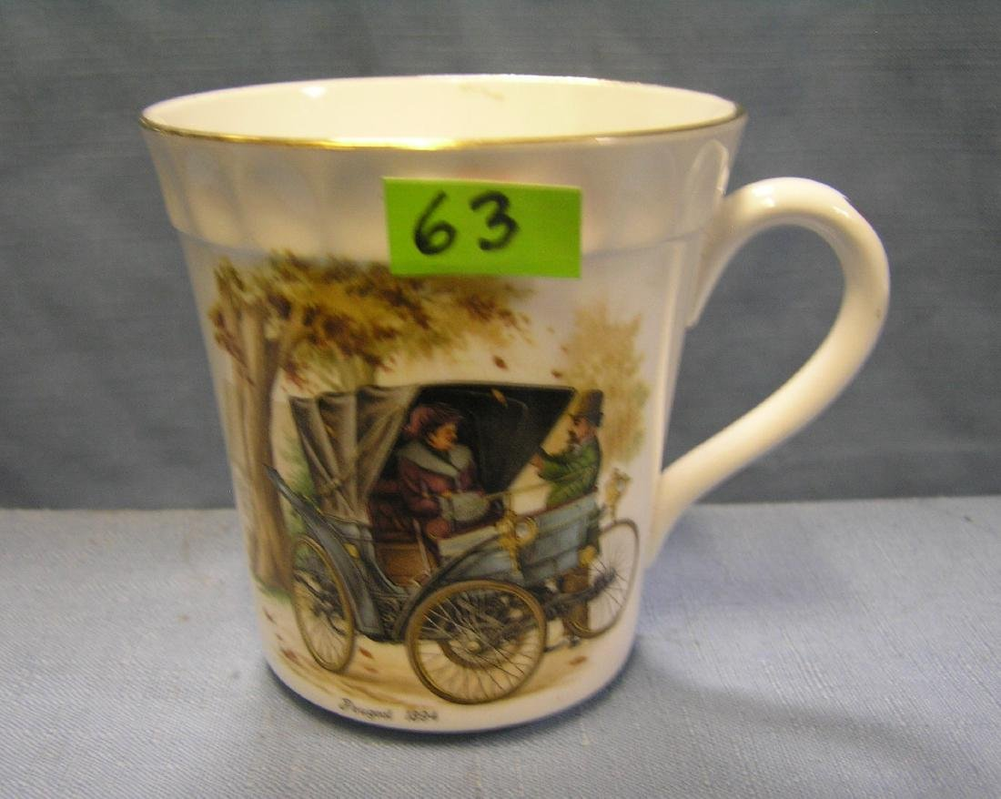 Peugeot horseless carriage coffee mug