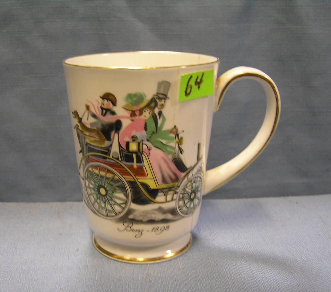 Mercedes Benz 1898 horseless carriage coffee mug