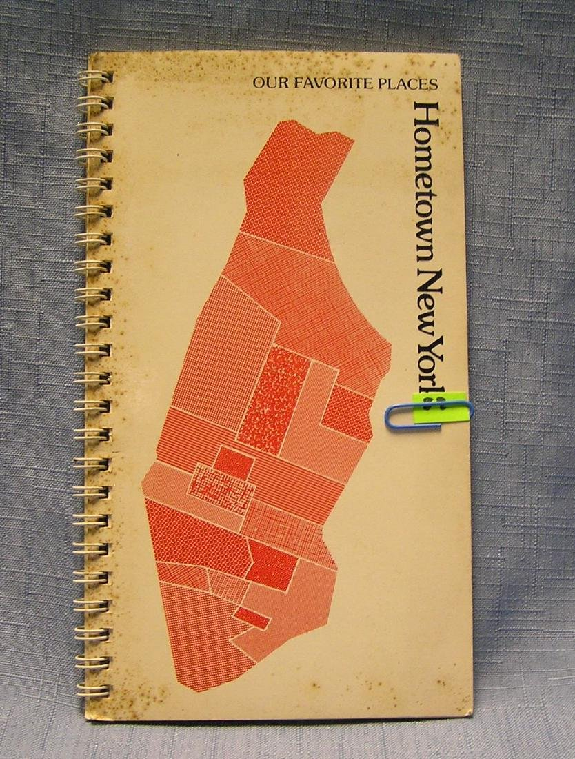 Vintage hometown guide to New York