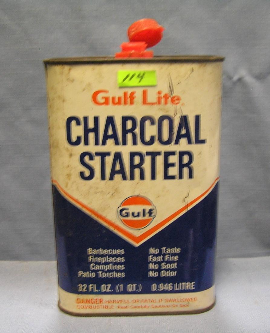 Gulf Oil Gulf Lite charcoal starter fluid