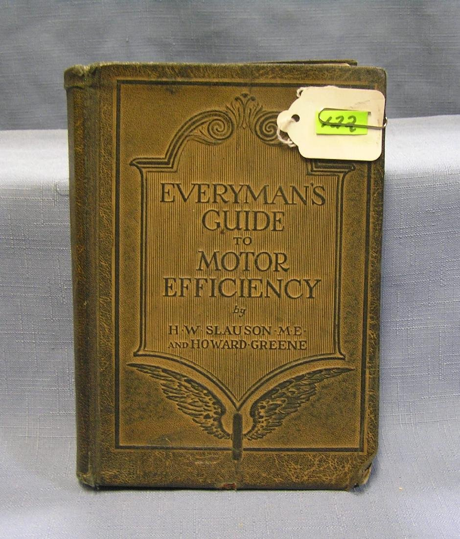 Every Man's Guide to Motor Efficiency