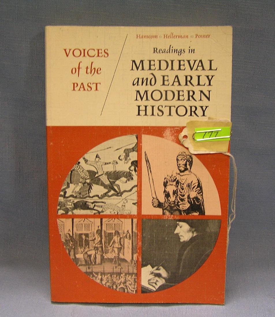 Voices of the Past Medieval and modern history