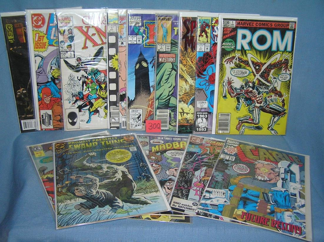Collection of vintage all firsr edition comic books