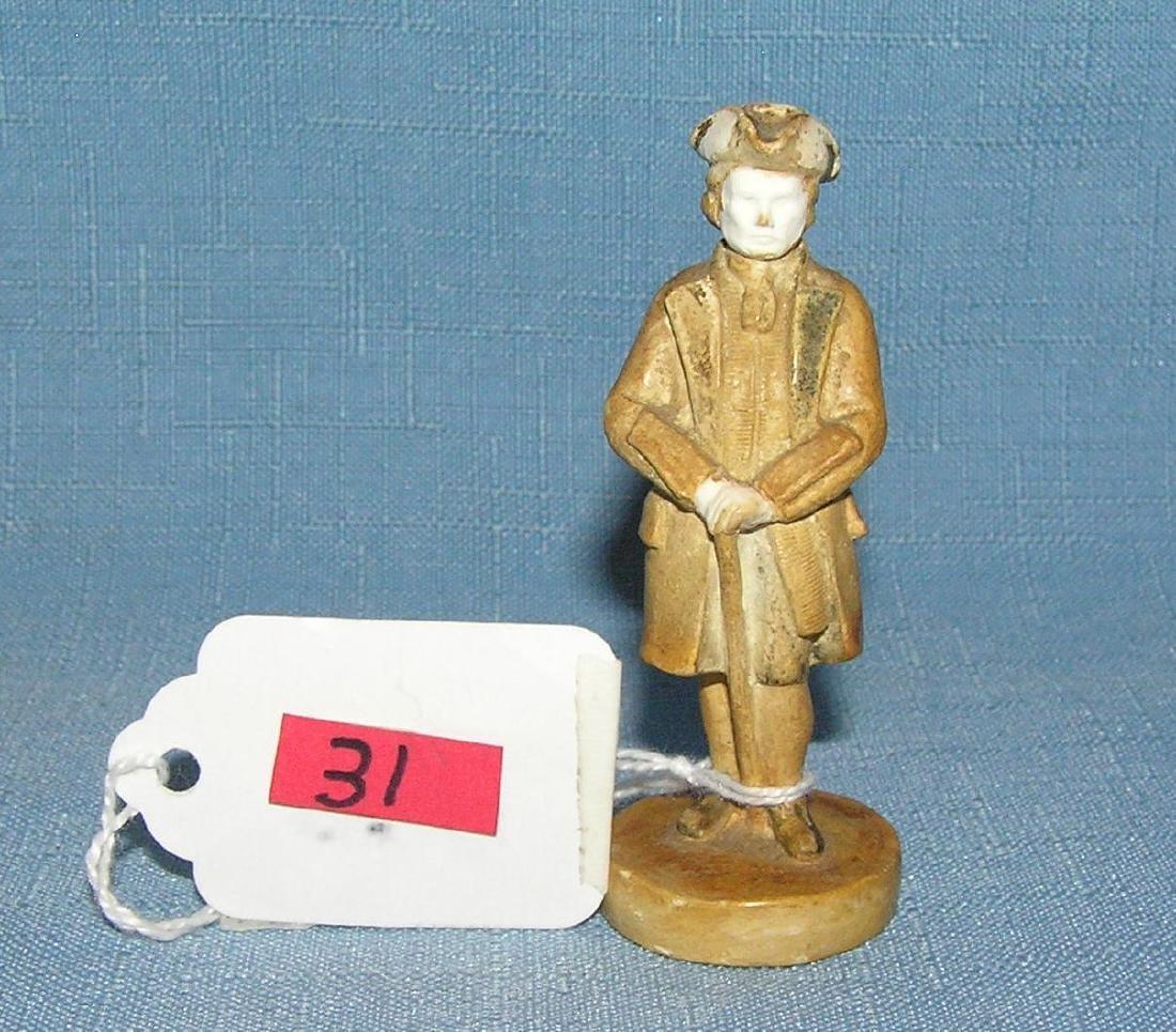 Revolutionary War style figure by P. W. Bastone