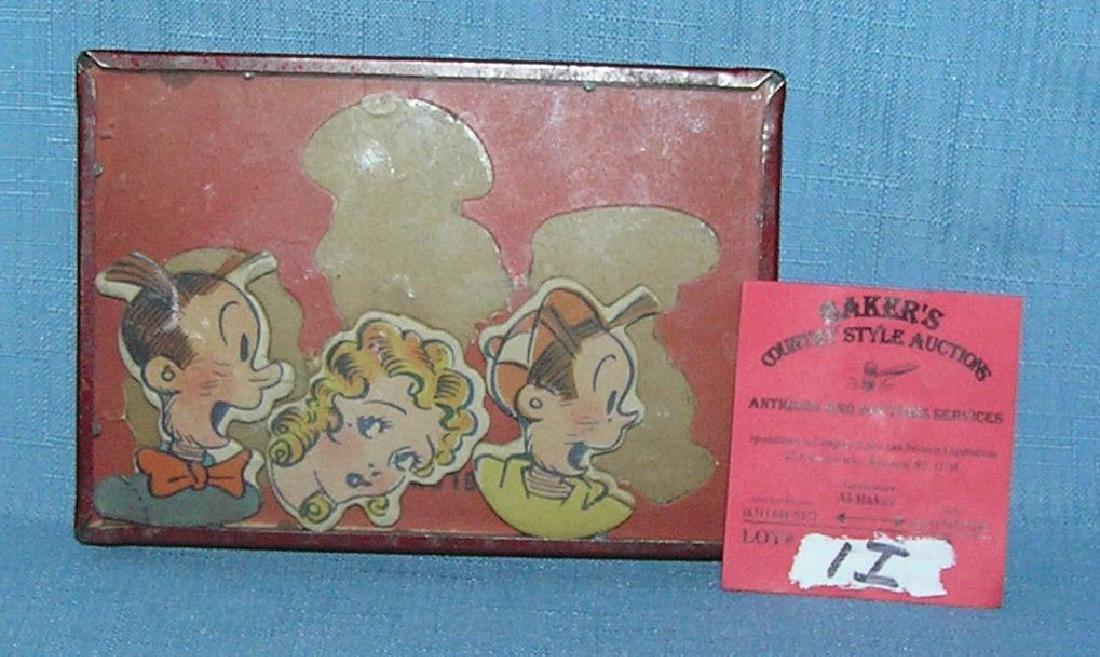 Antique Blondie and Dagwood dexterity toy