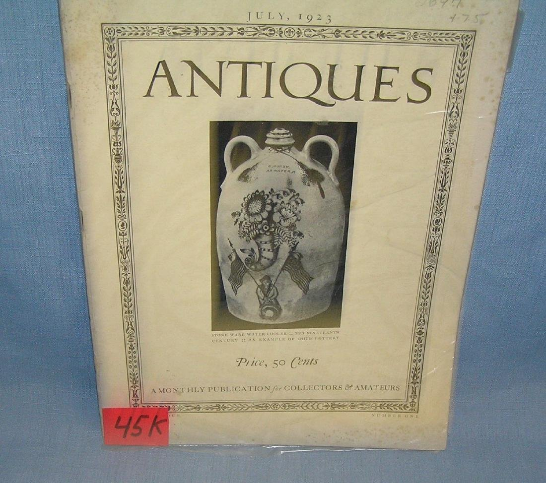 Antique Magazine July 1923