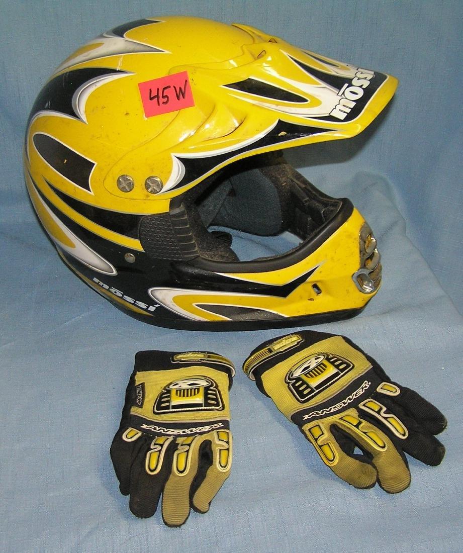 High quality Mossi motor bike racing helmet