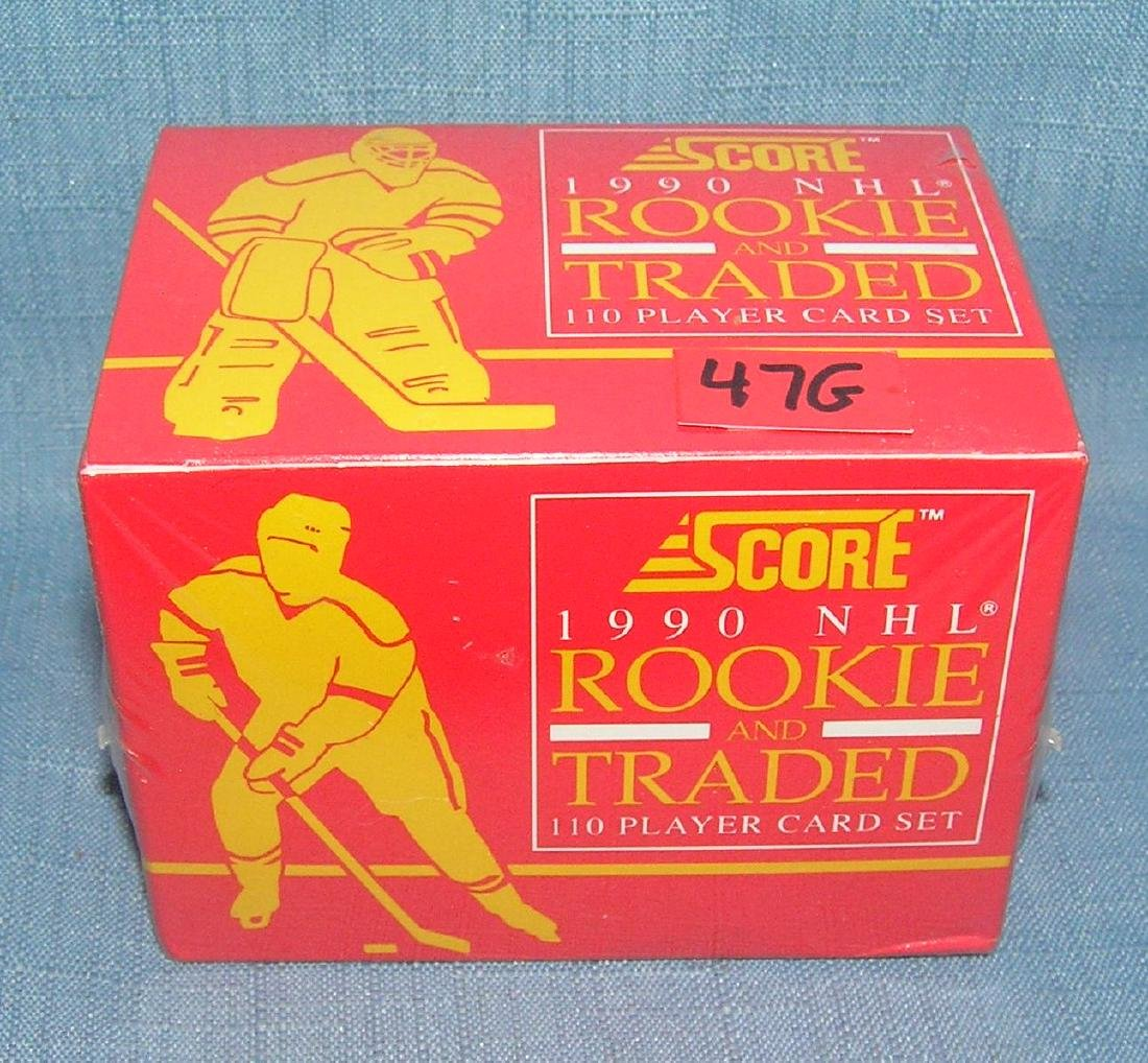 1990 Score factory sealed rookie card set
