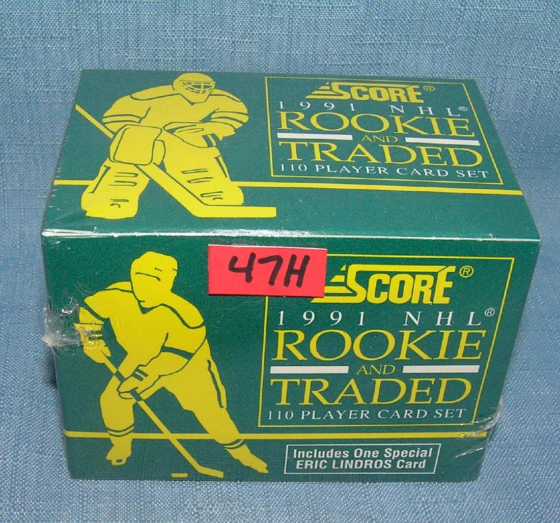 1991 Score factory sealed rookie card set